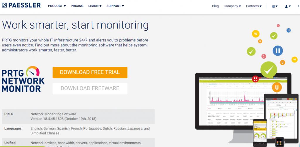 Paessler PRTGPRTG Network Monitor