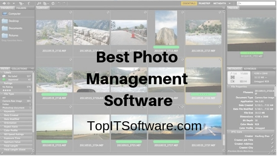 Best Photo Management Software