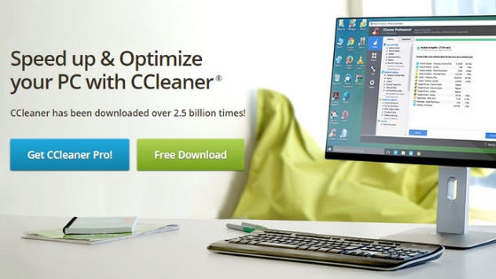 CCleaner pc cleaner software