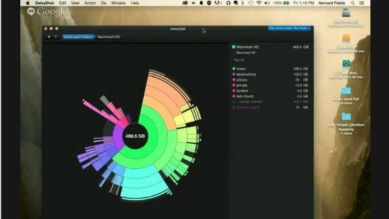 DaisyDisk - Mac cleaner Software
