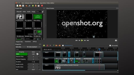 Openshot - Free Video Editing Software