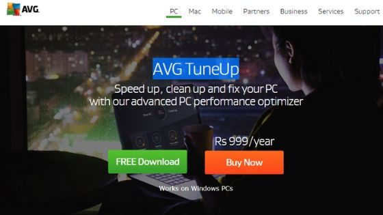 AVG TuneUp - Best Free PC Optimizer