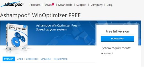 Ashampoo WinOptimizer - Best PC Optimizer Free