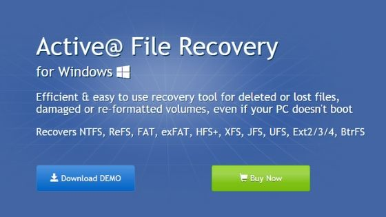 Active file Recovery - Best Data Recovery Software