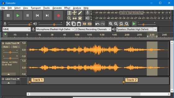 Audacity - Free Beat Making Software