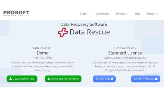 Data Rescue 5 - Best Data Recovery Software