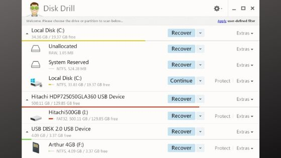 Disk Drill - Best Data Recovery Software
