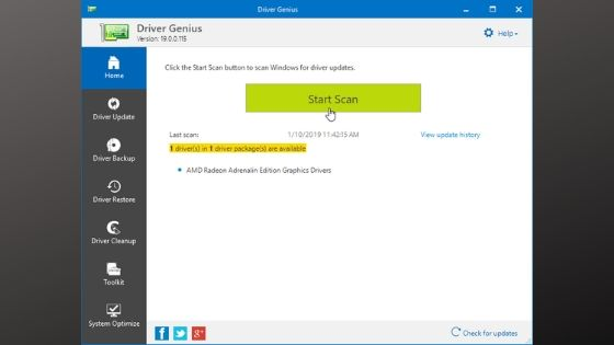 Driver Genius - Driver Updater Software