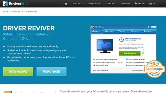 Driver Reviver Software