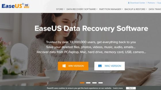 Ease Us Data Recovery Software