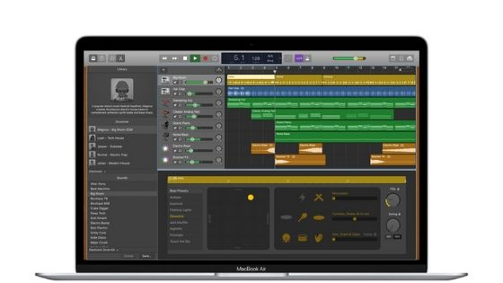 Garageband - Music Making Software for Mac