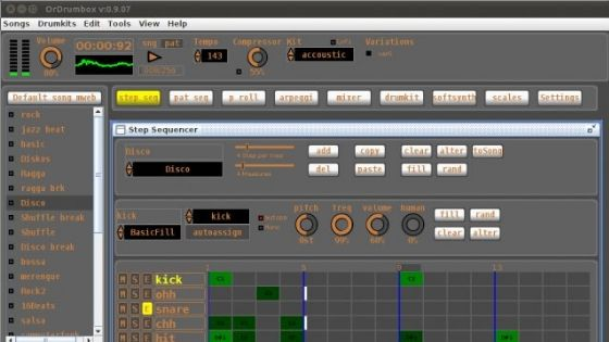 OrdrumBOX - Free Drum Beat Making Software