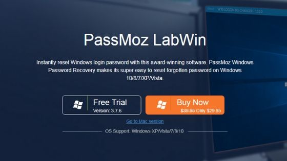 PassMoz LabWin - Best Windows Password Recovery Software