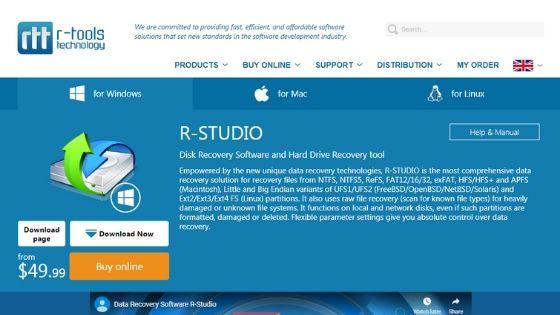 R-Studio Data Recovery Software Windows & Mac
