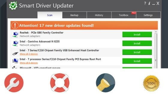 Smart Driver Updater Software