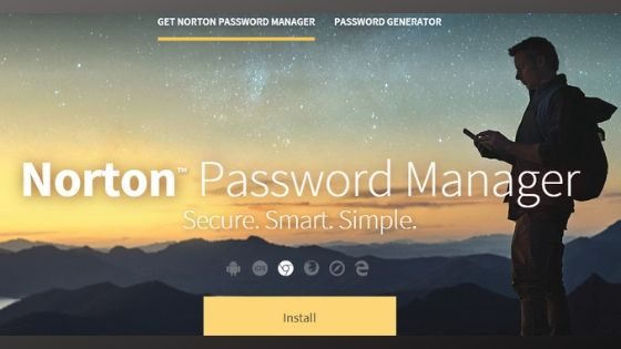 Symantec Norton Identity Safe - best password manager app