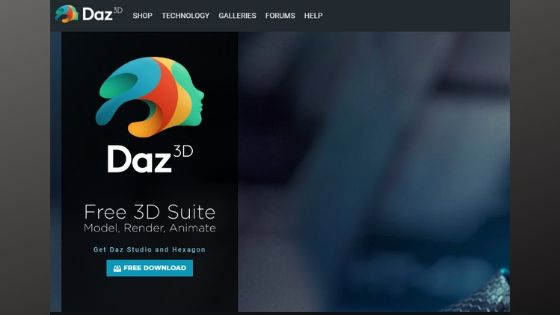 Daz Studio - Free 3D Animation Software