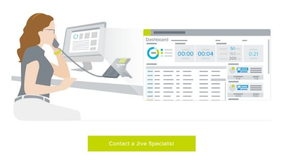 Jive Contact Centre & cloud-based call center software