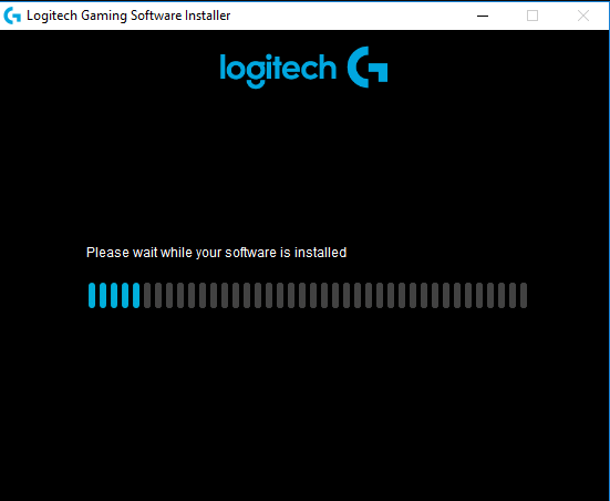 Logitech Gaming Software Installer Process
