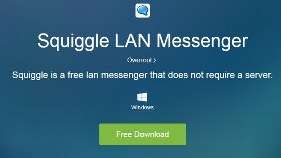 Squiggle Lan Messenger