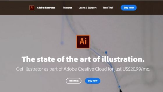 Adobe Illustrator logo maker software
