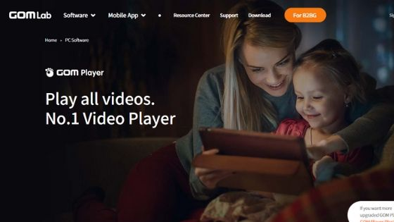GOM Media Player - free dvd player for windows 10