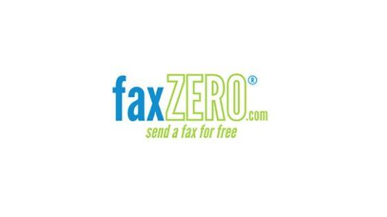 faxzero - free fax service online