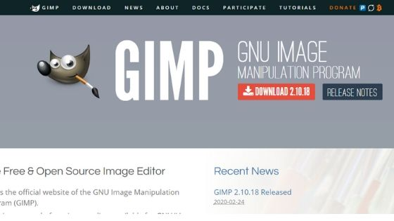 gimp logo maker software