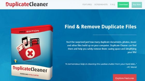 Duplicate Cleaner - duplicate photo finder software