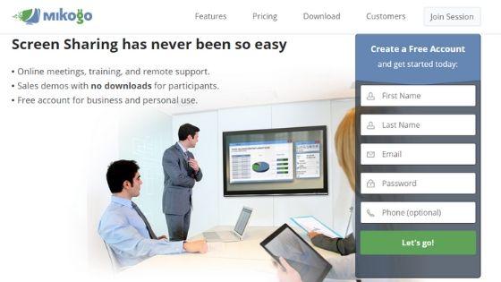 Mikogo free remote desktop software