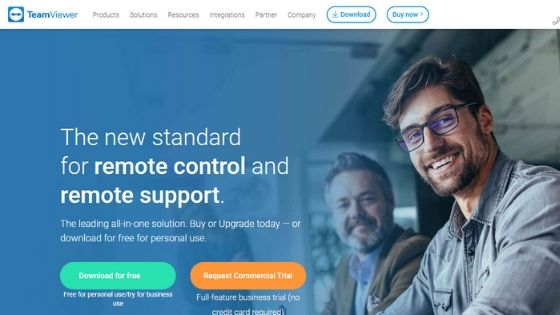 teamviewer free remote desktop software