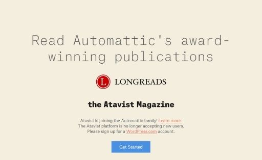 Atavist Ebook Creator Software