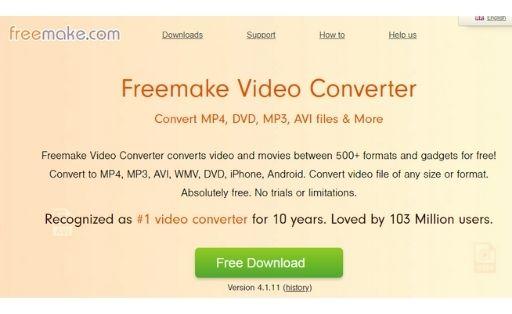 Freemake free youtube to mp3 converter