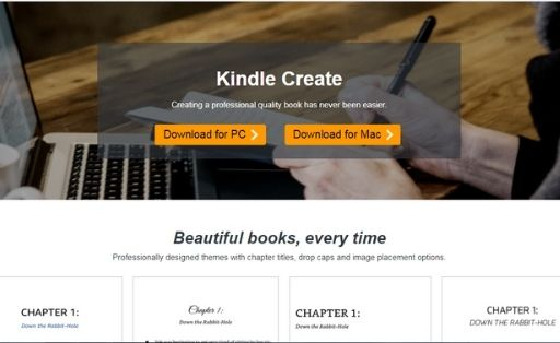Kindle Create Ebook Creator Software