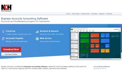 NCH free accounting software