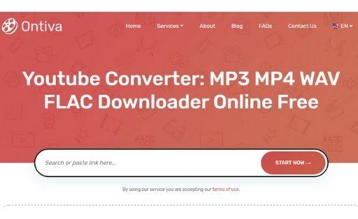 Ontiva YouTube to MP3 Converter