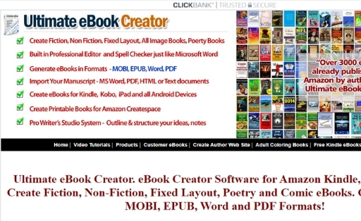 Ultimateebookcreator Ebook Creator Software