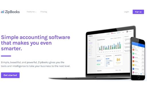 ZipBooks free accounting software