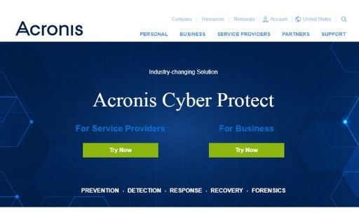 Acronis Disk Director disk cloning