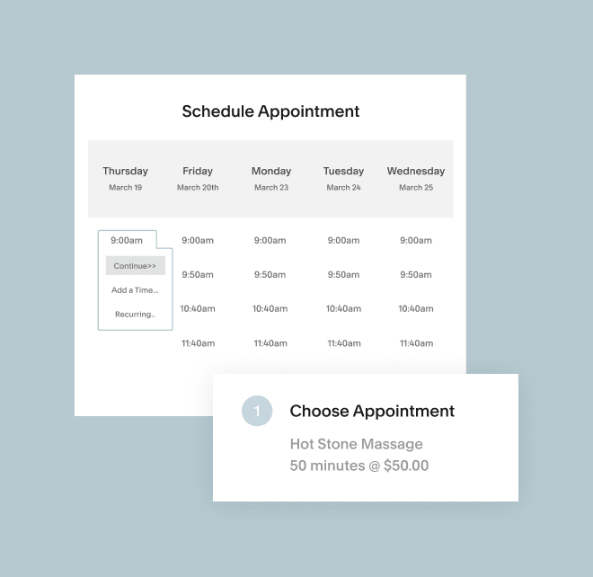 Acuity Appointment Scheduling Software