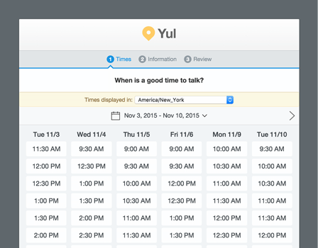 Appointlet Appointment Scheduling Software
