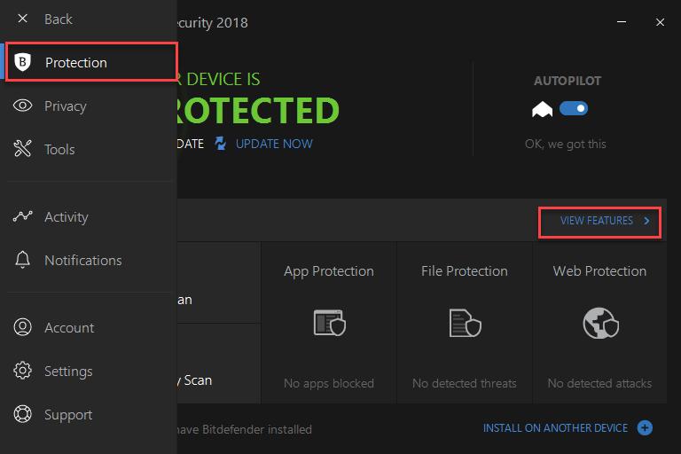 Bitdefender Total Security Internet Security Software