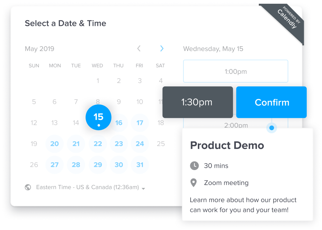 Calendly Appointment Scheduling Software