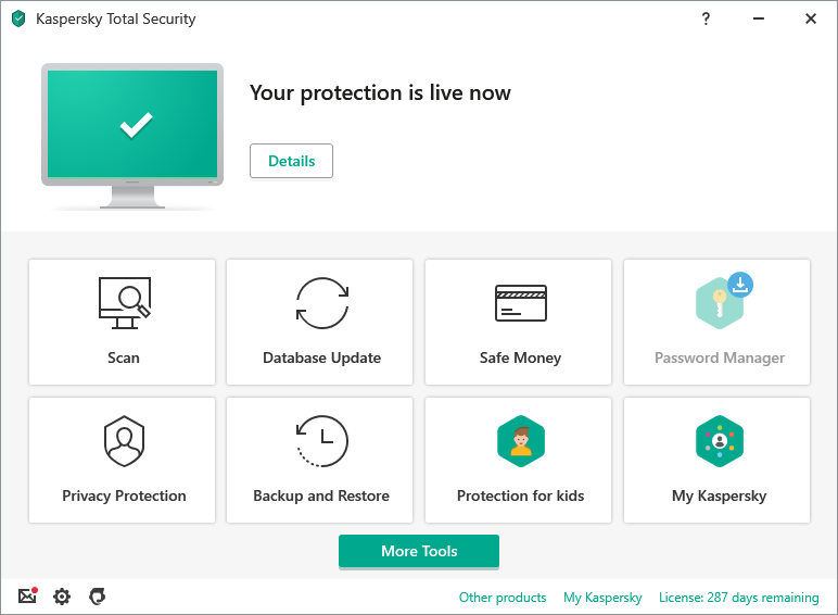 Kaspersky Total Security Internet Security Software