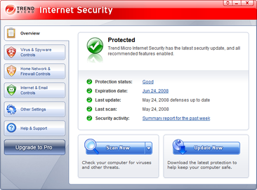 Trend Micro Maximum Security Internet Security Software