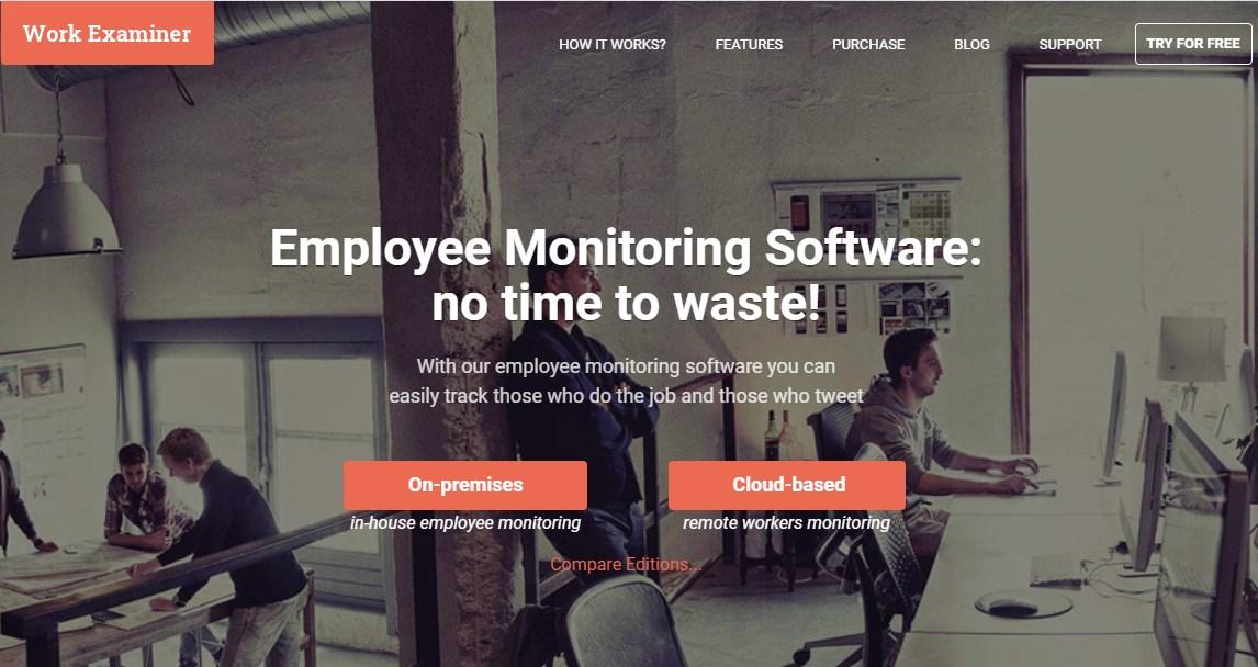 Work Examiner Employee Monitoring Software