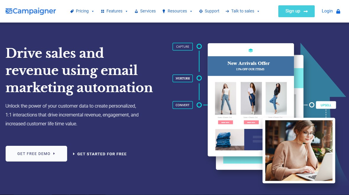Campaigner Email Marketing Software