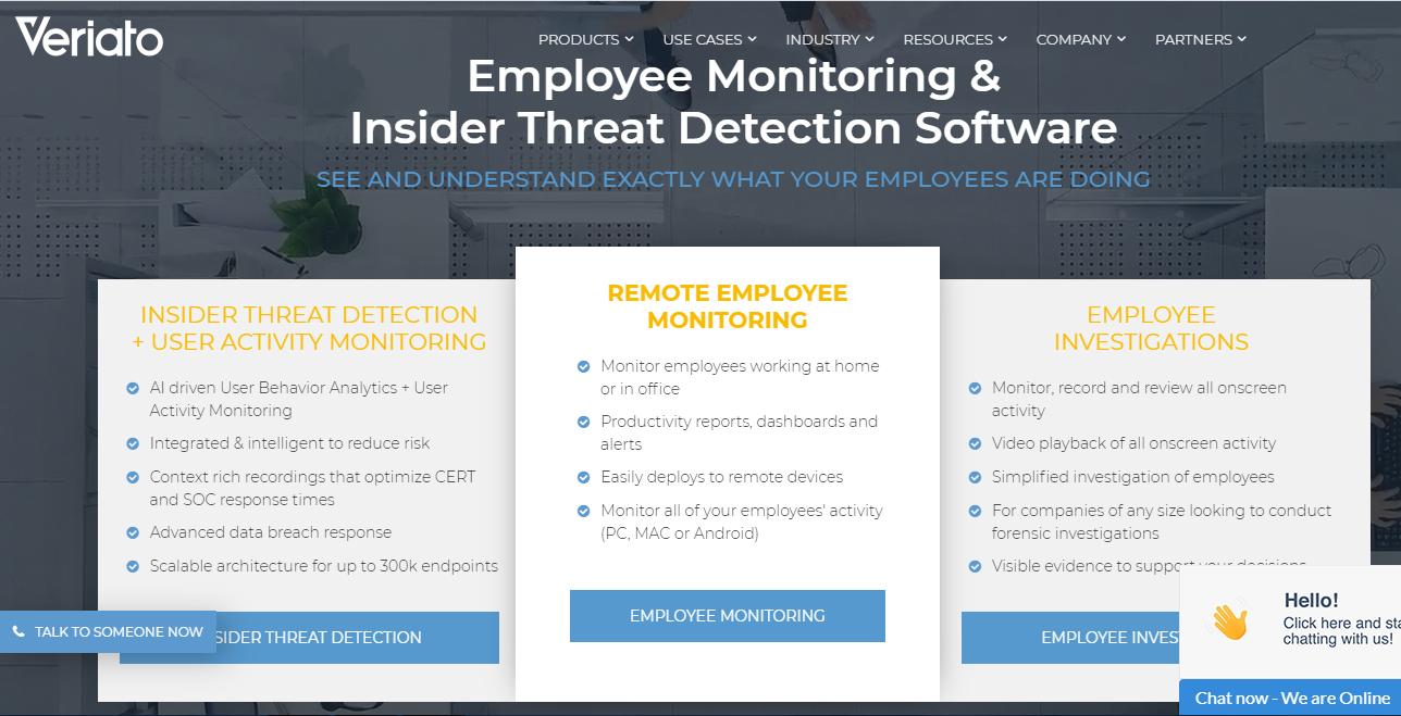 Veriato Employee Monitoring Software