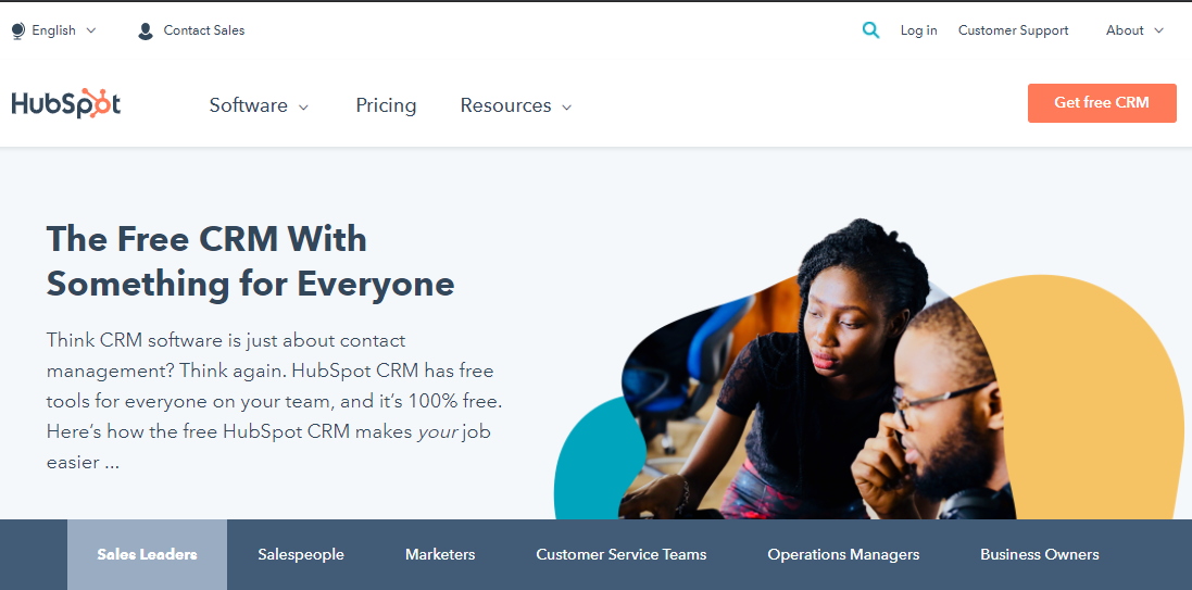 HubSpot CRM Software