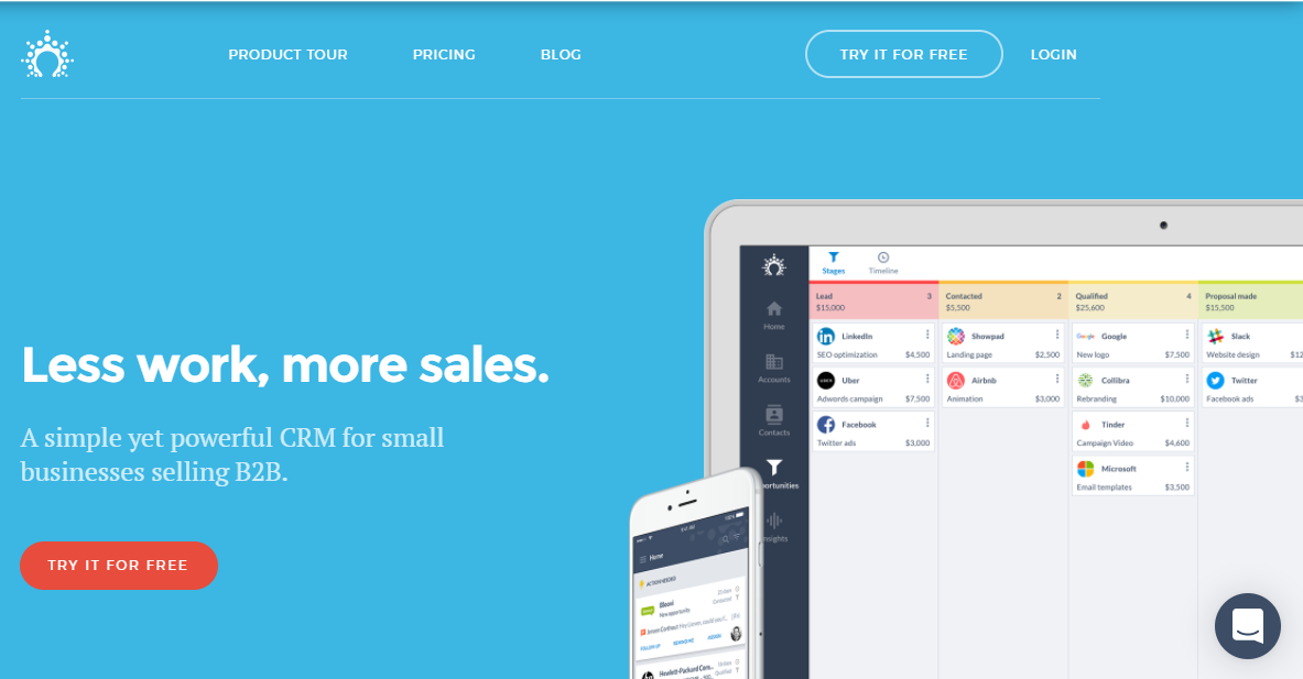 SalesFlare CRM Software